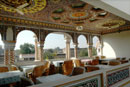 Our hotel dining hall - Mandawa